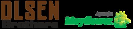 Logo for Olsen Brothers Mayflower