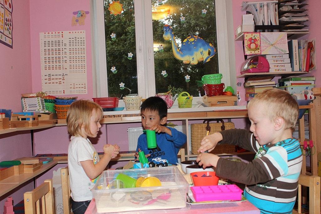 Детский развивающий центр с приоритетным