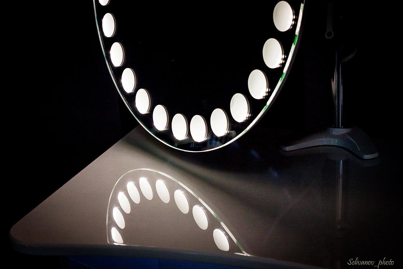 макияжный стол yulight с подсветкой купить