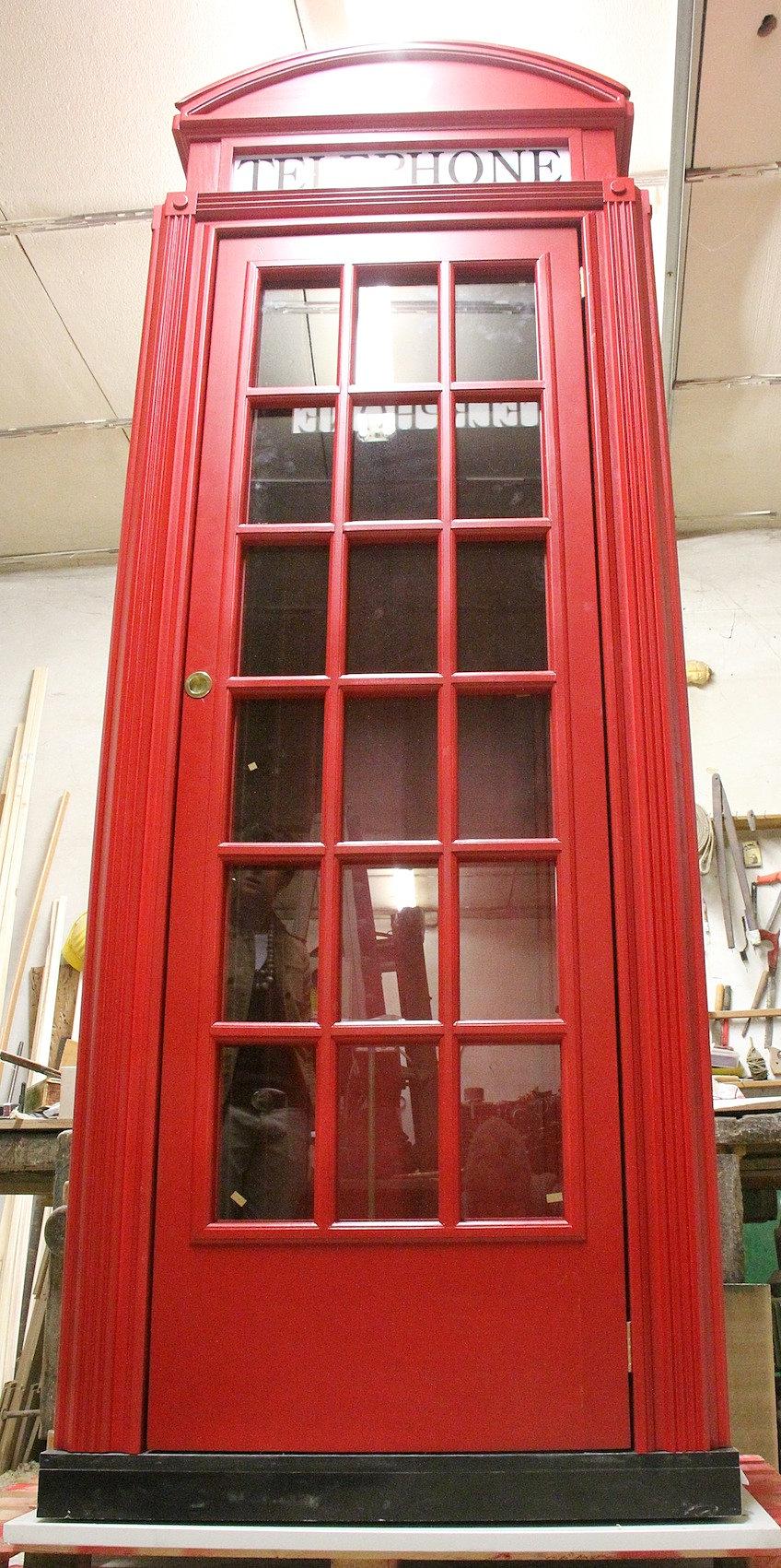 Error 404 for Cabina telefonica inglese arredamento