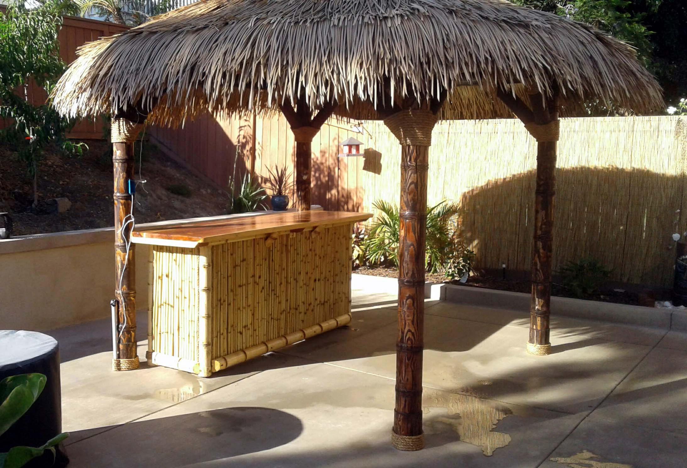 tiki hut california tropical shade imports 11 u0027 synthetic