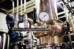 Prohibition Distillery's beautiful spirit producing process