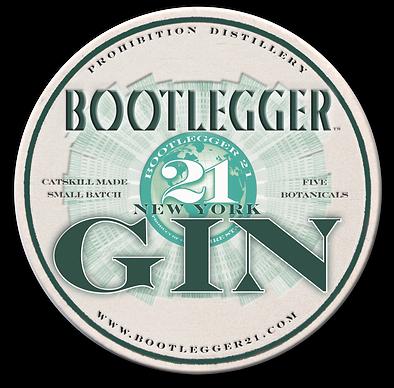 Bootlegger 21 Gin Coaster
