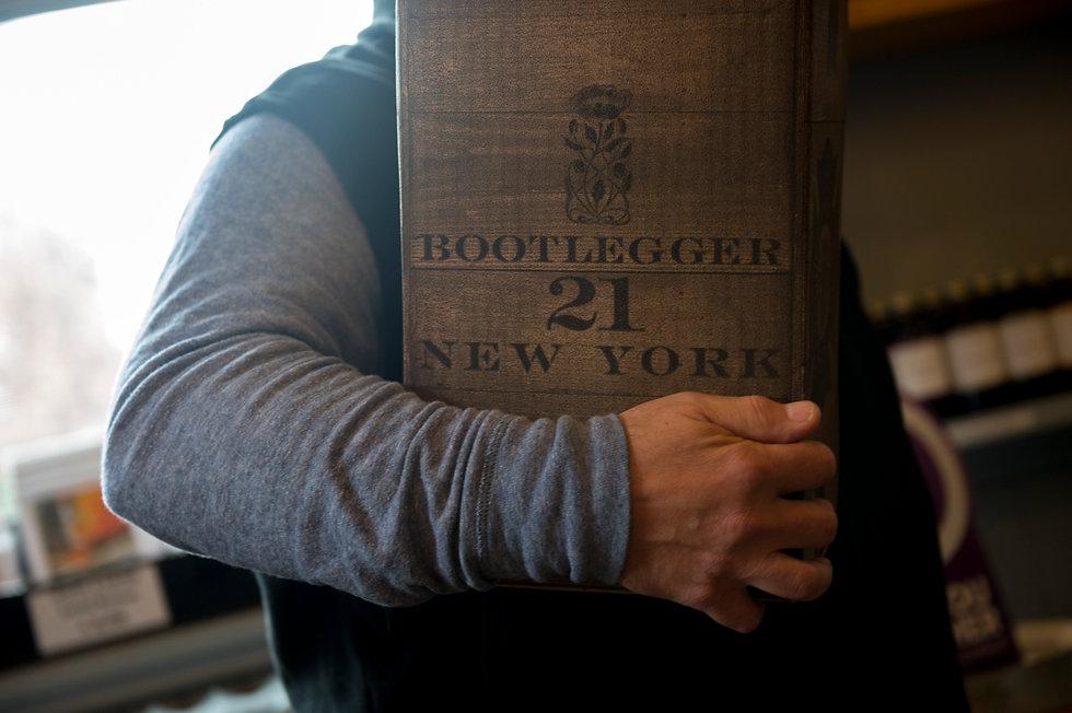 Get a hold of a case of Bootlegger 21 New York Spirits!