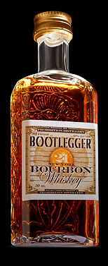 Bootlegger 21 NY Bourbon Whiskey 50 ML
