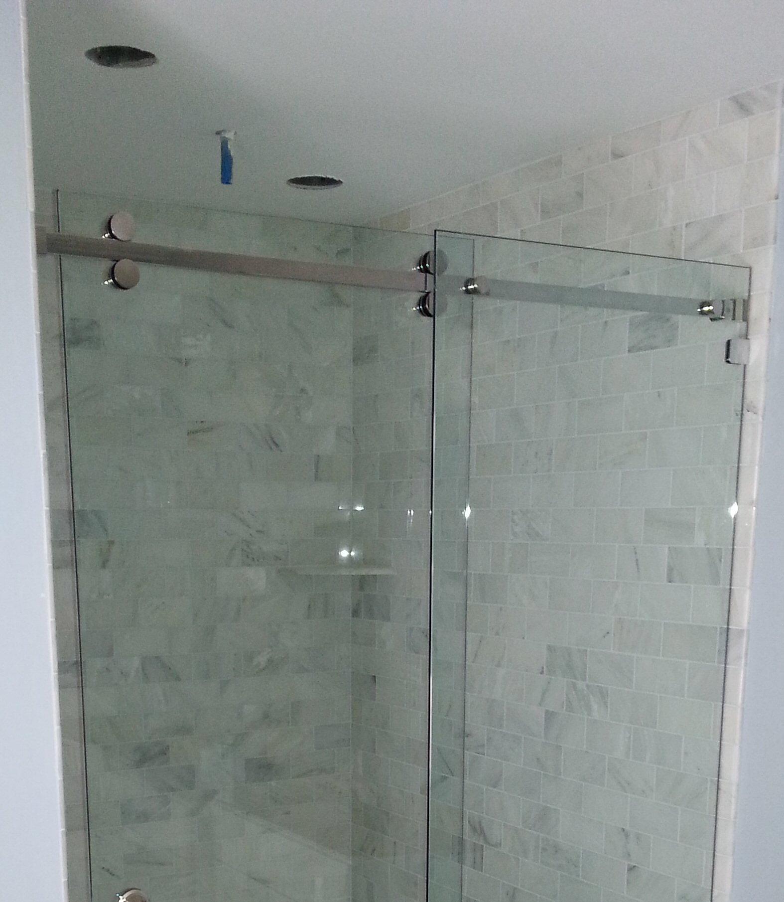 manasquan glass mirror and shower door wayne pa and manasquan nj serenity glass sliding door