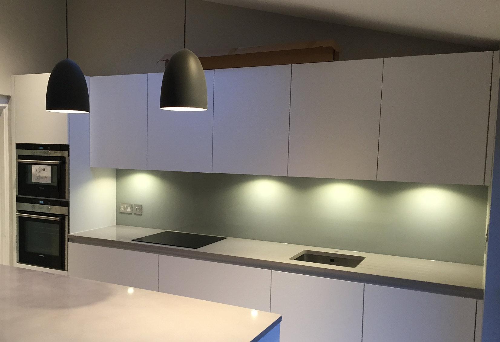 Galley Style Kitchen Landmark White Galley Style Kitchen