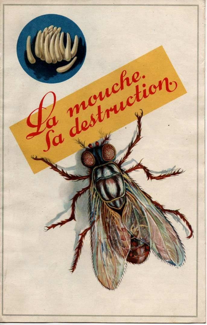 la mouche de la menace l 39 extermination dans les publicit s 1920 1965 catalogues. Black Bedroom Furniture Sets. Home Design Ideas