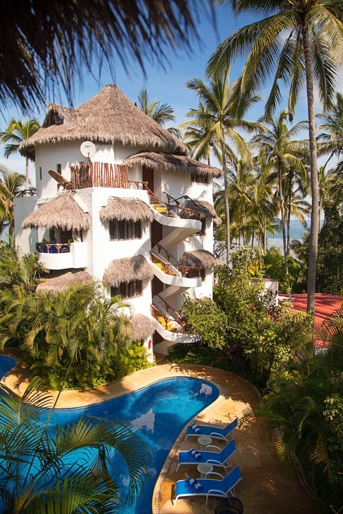 Hotel Sayulita Beach Front View