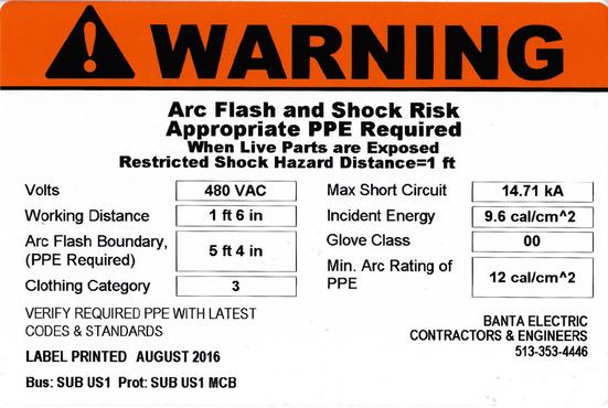 2017 nec advances arc flash requirements banta electric With arc flash regulations