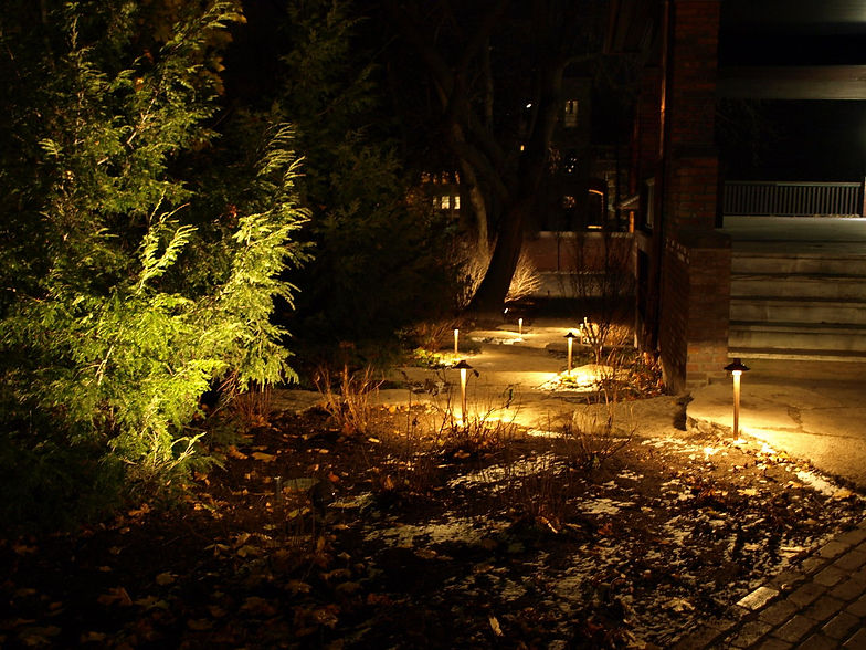 Lightscape residential commercial outdoor lighting chicago path lighting aloadofball Image collections