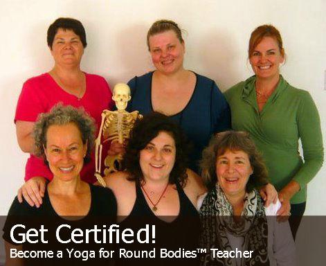 Yoga for Round Bodies teachers