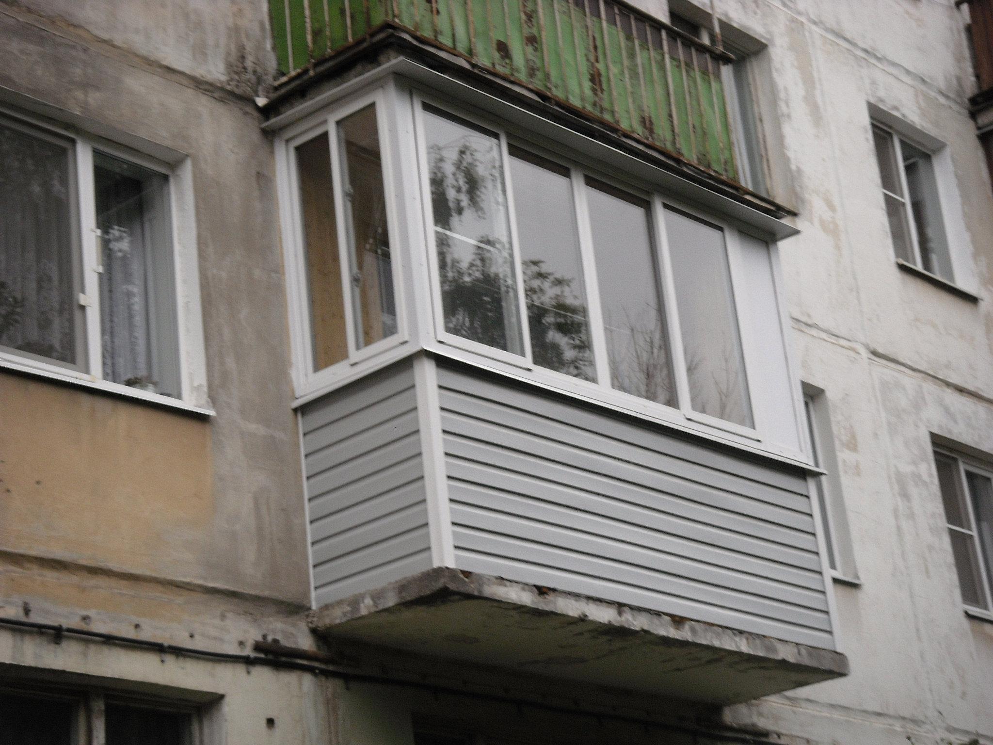 Остекление балконов на западе московской области.