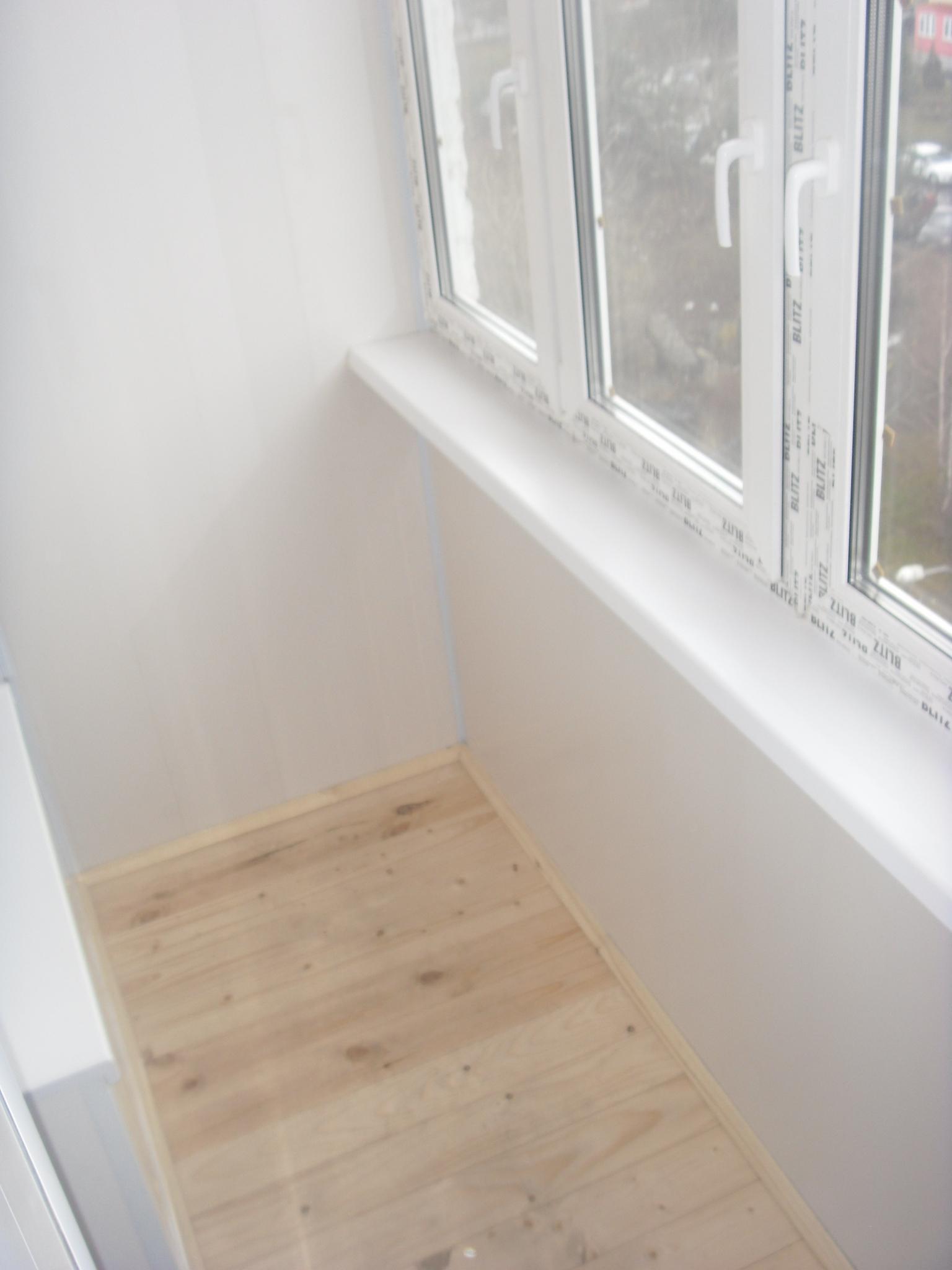 Остеклить балкон серия 1 510. - дизайн маленьких лоджий - ка.