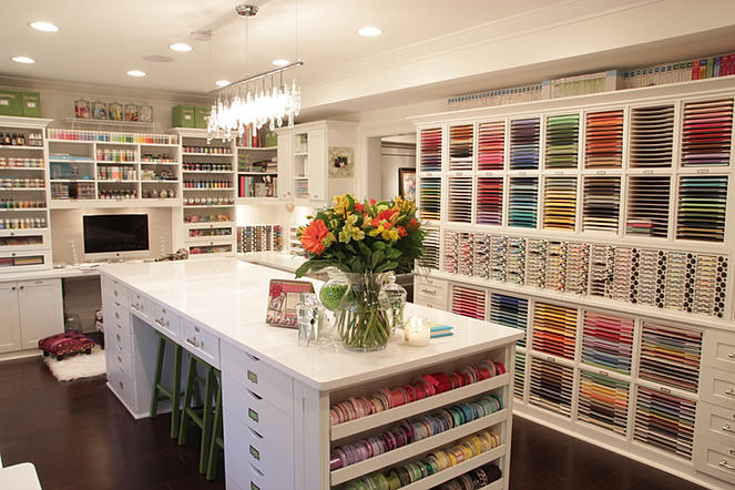 papermint organized craft studio