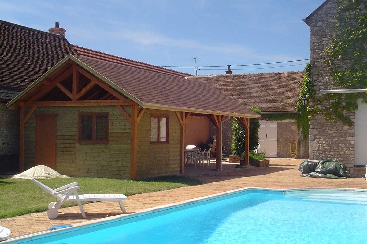 charpente boscarato i pool-house