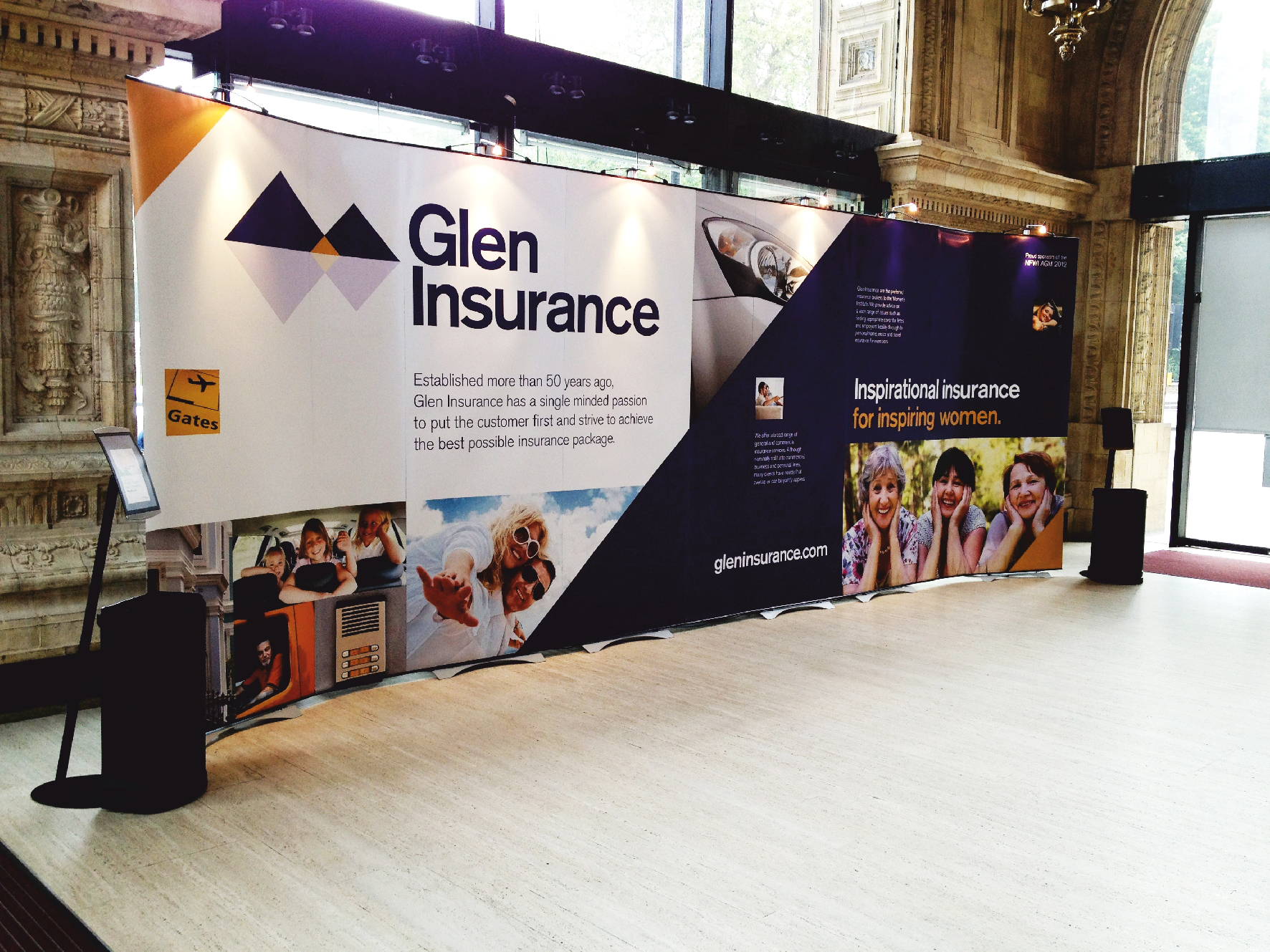 Exhibition Stand Insurance : Bendi seamless exhibition stand solution
