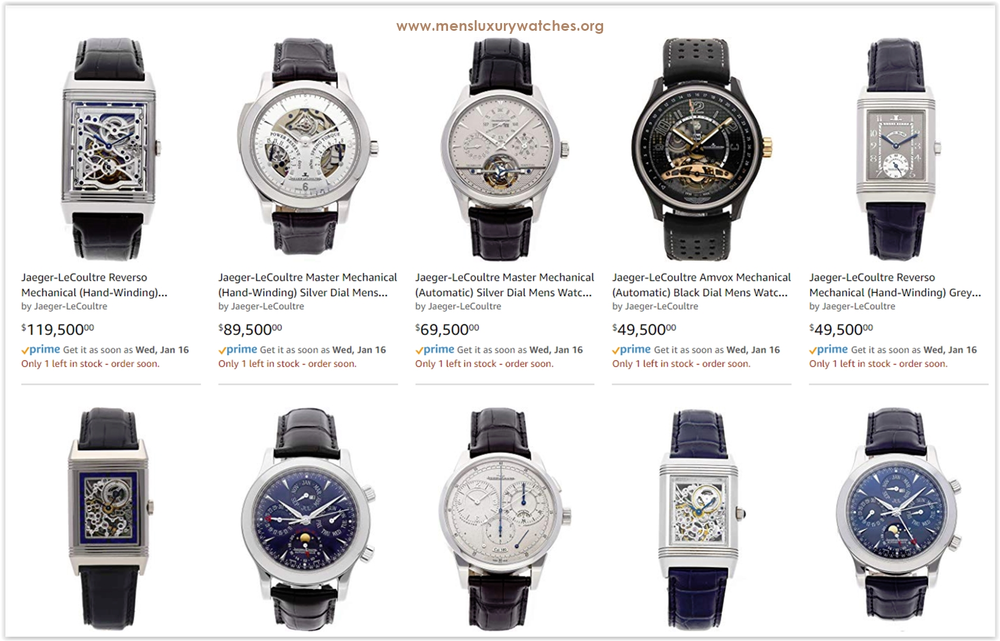 Best Jaeger-LeCoultre Men's Luxury watches on Amazon - cover