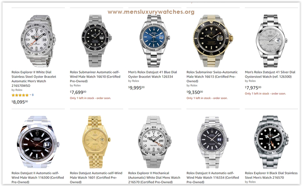 The best Rolex Men's Watches you can buy for under $10,000