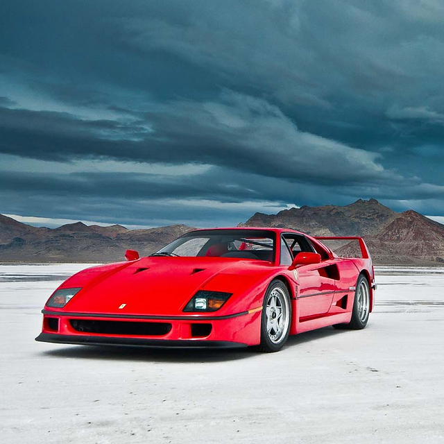 Launched In 1987, The Ferrari F40 Was The Fastest Car Ferrari Had Ever  Built, With A Top Speed Of 324 Km/h! In My Opinion, The Ferrari F40  Symbolizes ...