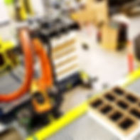 MWES Robotic Bottle Depalletizing System