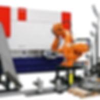 MWES Robotic Press Brake Automated Metal Bending
