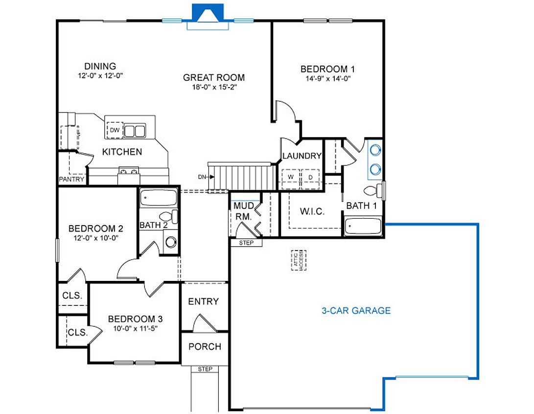 Inspirehomesmn home plans detail jamaica 2 2 for House plans jamaica