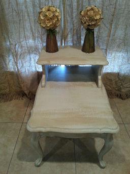 French Provincial Antique Distressed End Table Mowrys Furniture Tampa And Antiques Tampa