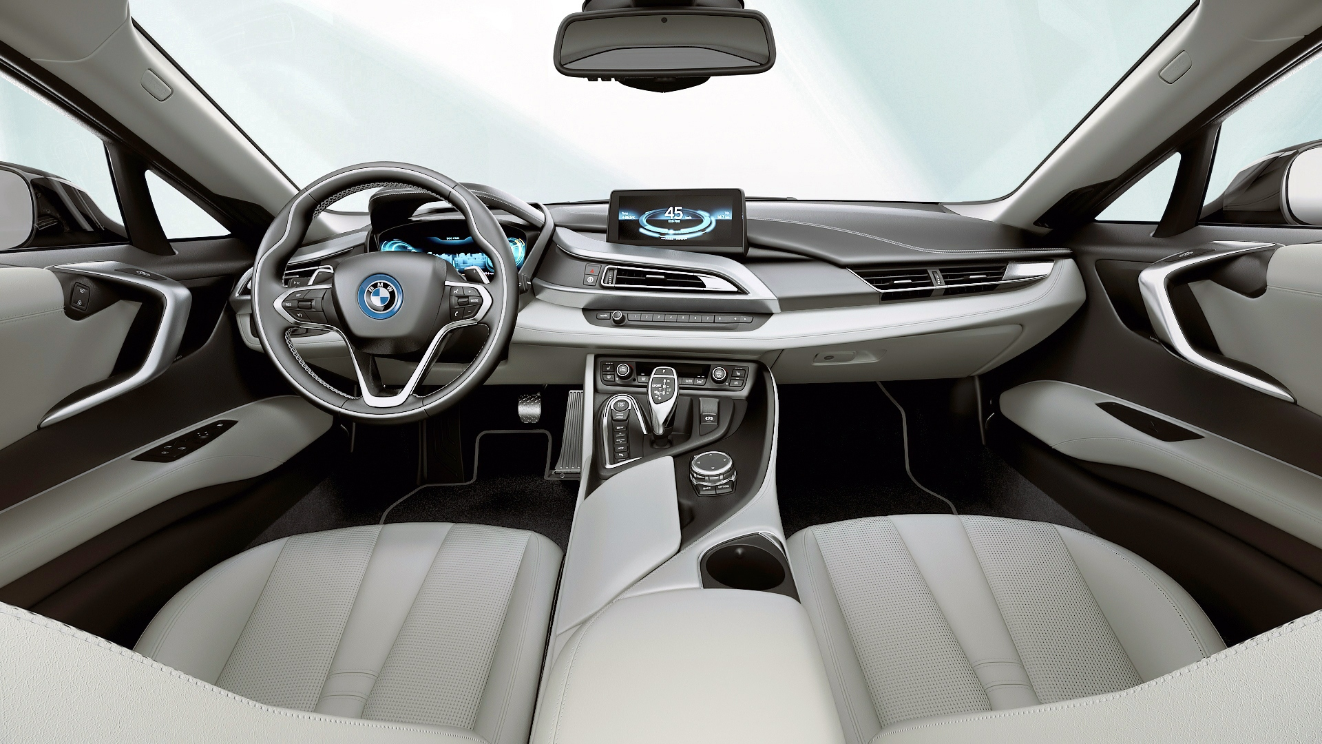 Bmw I8 Interior. first look bmw i3 and i8 electric concept cars bmw ...
