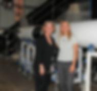 Pam Melroy & Dava Newman