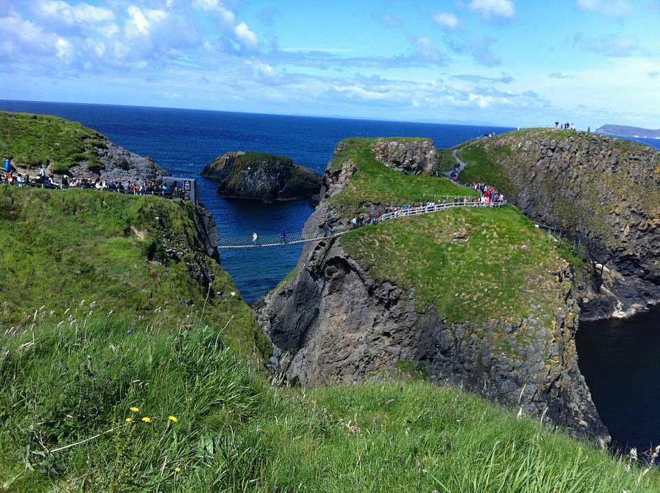 Ballintoycottages Carrick A Rede Rope Bridge