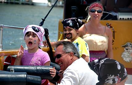 destin kid friendly boat ride