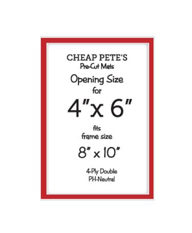 Framing Supplies | Pre-Cut Mats & Glass