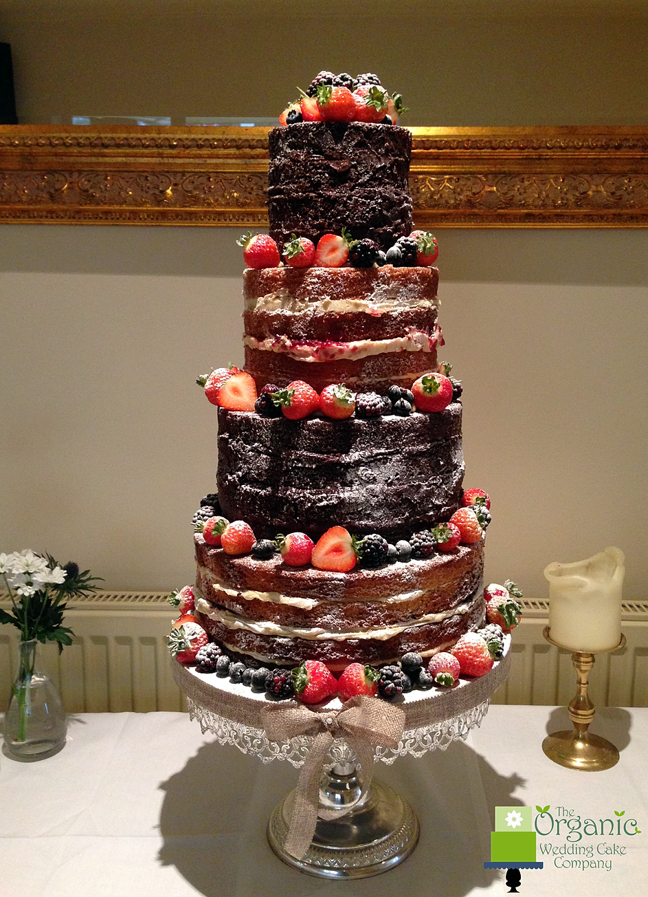 Naked wedding cakes gallery