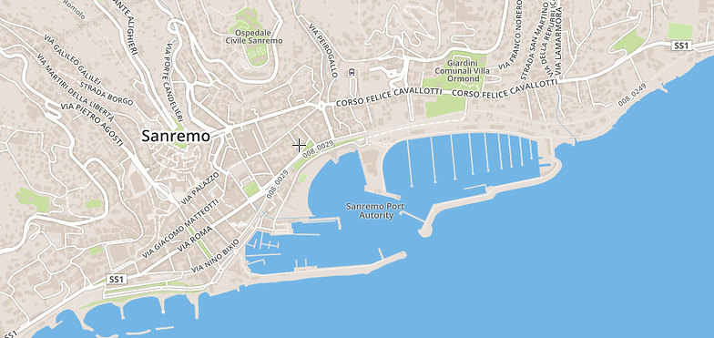 Sanremo App Free Tours and Itineraries in and near Sanremo Italy