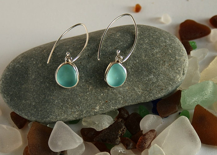 Carolyn Burgess Kelly Sea Glass Jewelry