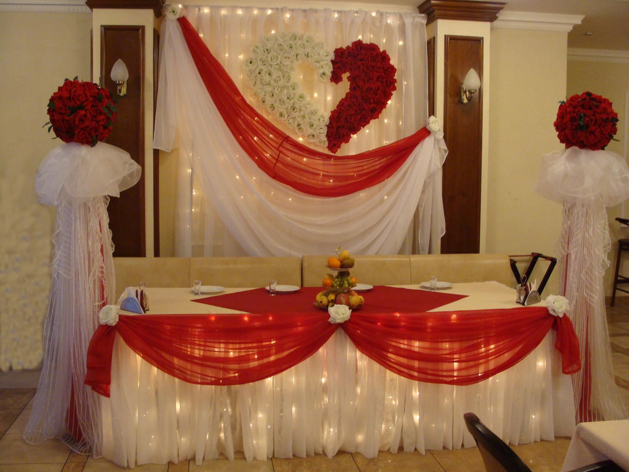 Праздничное оформление свадеб фото