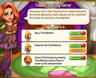 Time Traveling Terror