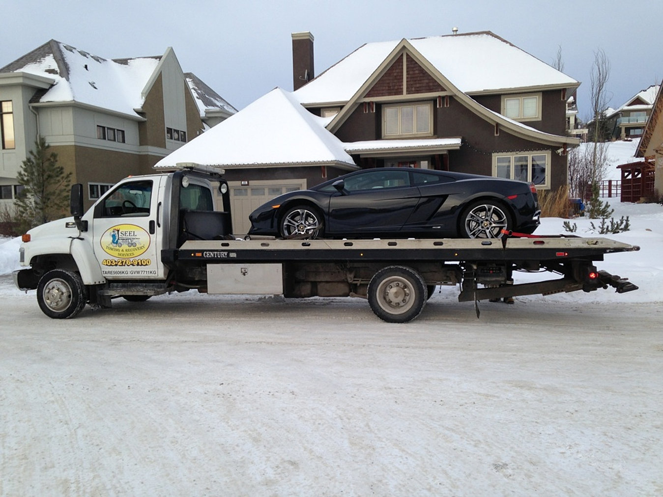 Tow Truck Calgary >> Towing Calgary Roadside Assistance Tow Truck Services | SEEL Towing
