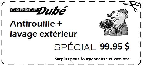 Promotions au garage dub de st hyacinthe for Garage bien etre auto saint gratien