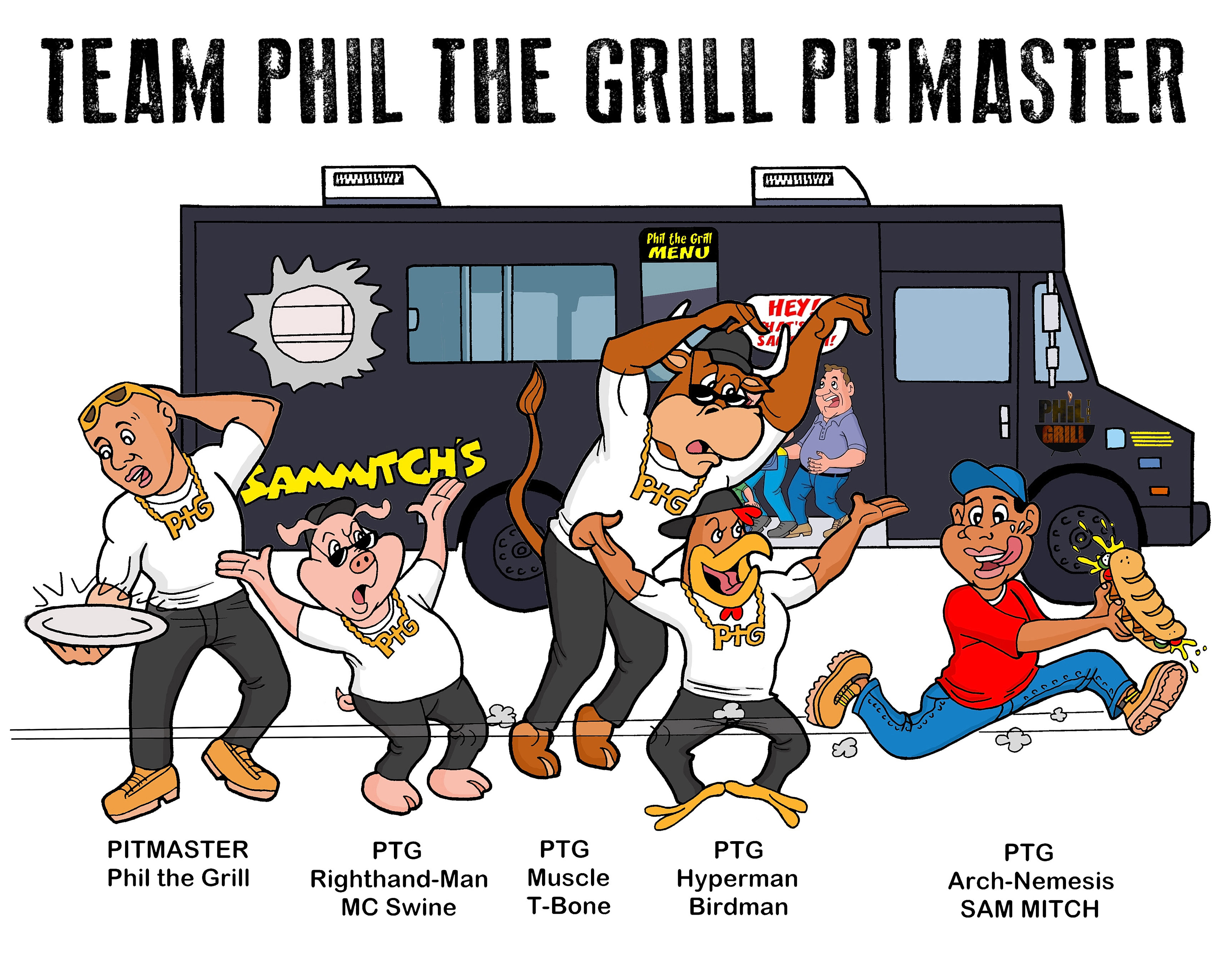 Championship barbecue by phil the grill for Phil s fish grill