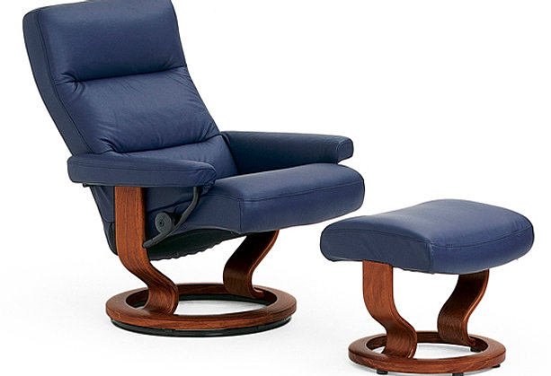ekornes stressless atlantic recliner by ekornes. Black Bedroom Furniture Sets. Home Design Ideas