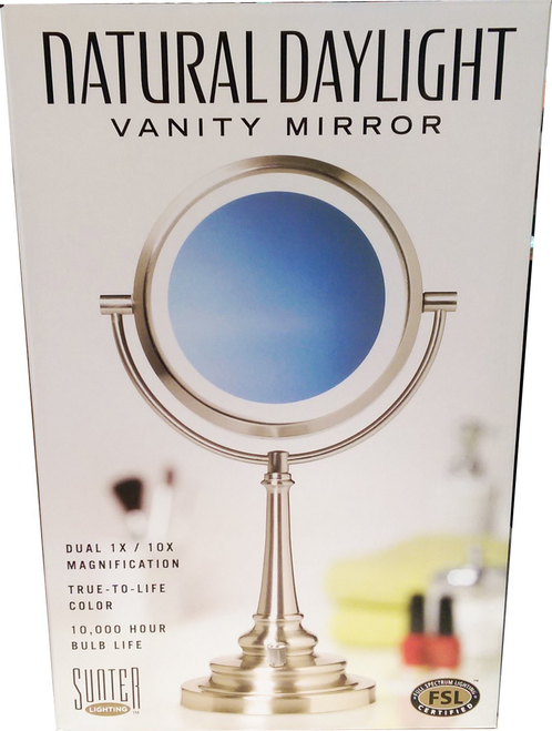 Sunter Natural Daylight Vanity Makeup Mirror whole-kitchen-sink