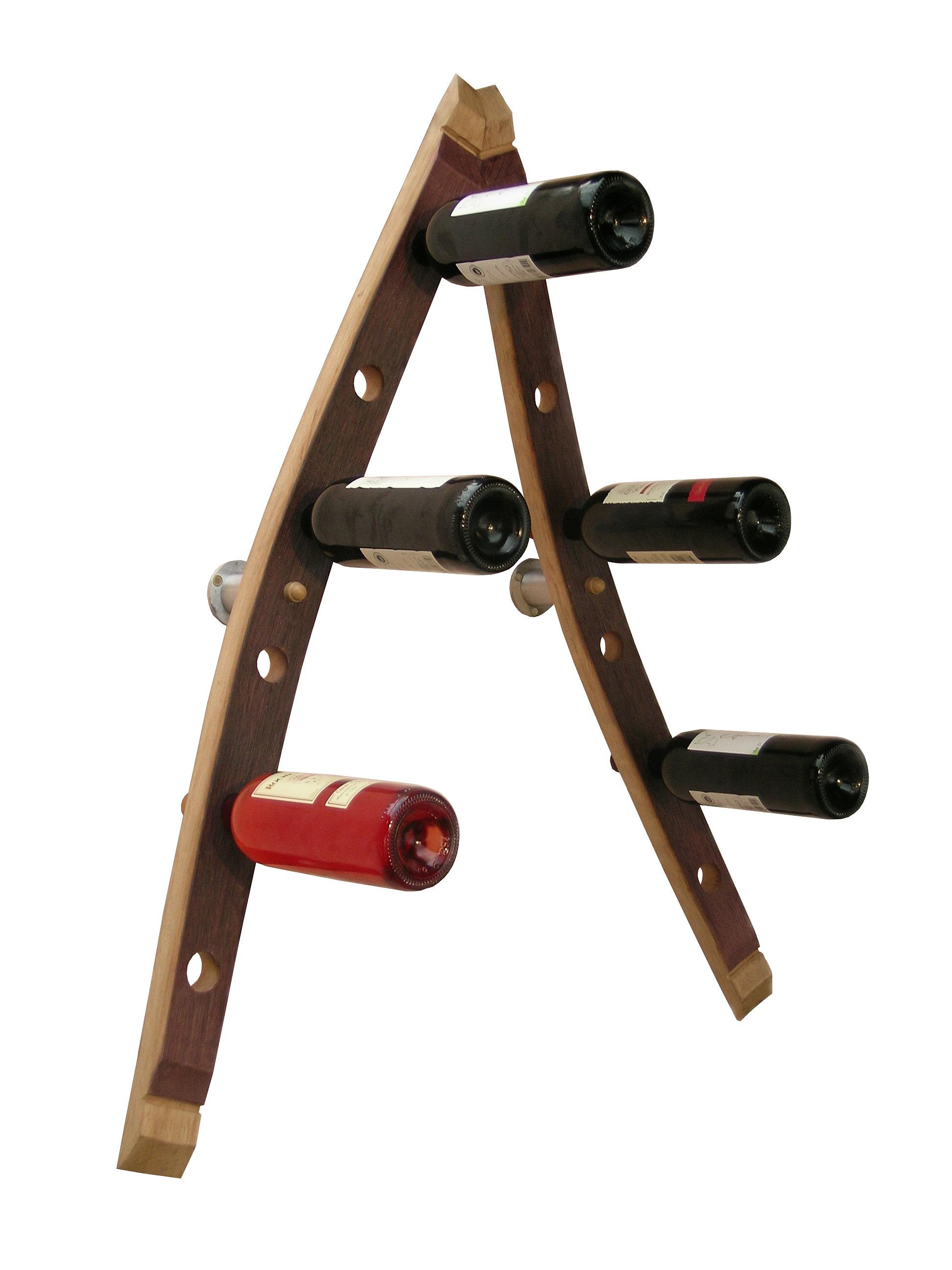 Douelledereve mobilier et objets des grands vins accessoires de cave porte bouteille mural - Porte bouteille mural design ...
