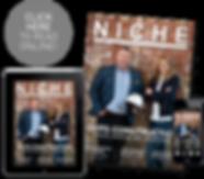 Niche Magazine Front Cover March April I