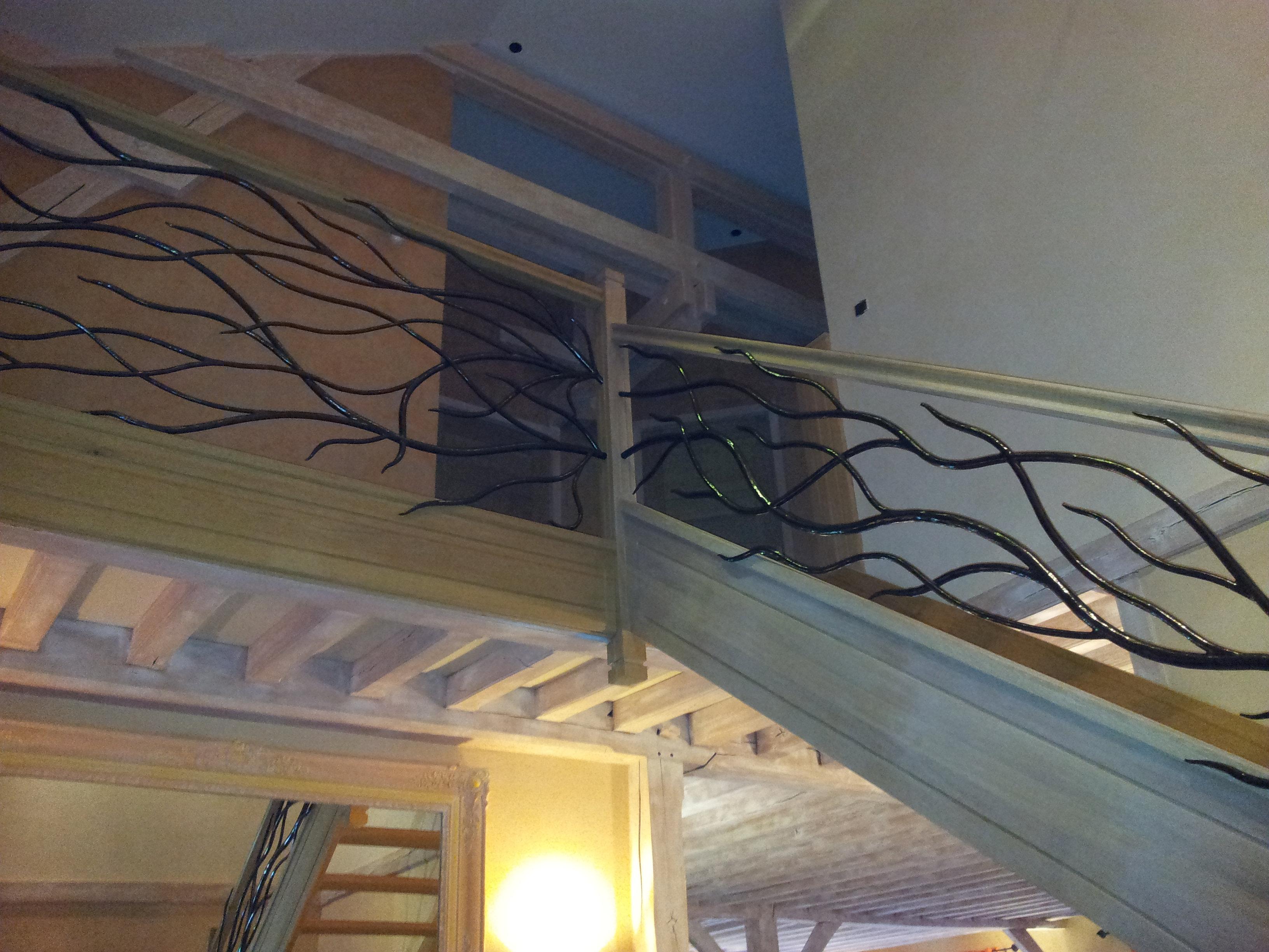 Mfam Rampe D 39 Escalier En Fer Forg