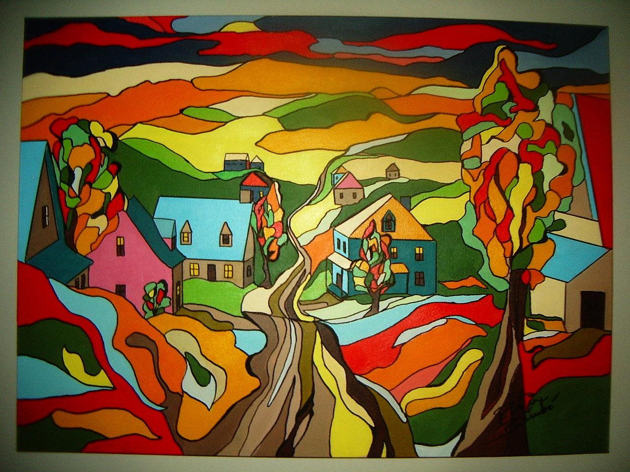 Artiste Peintre Robin B Rub