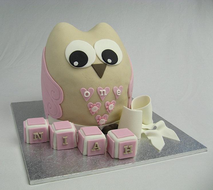 Owl Birthday Cake Brisbane Image Inspiration of Cake and Birthday