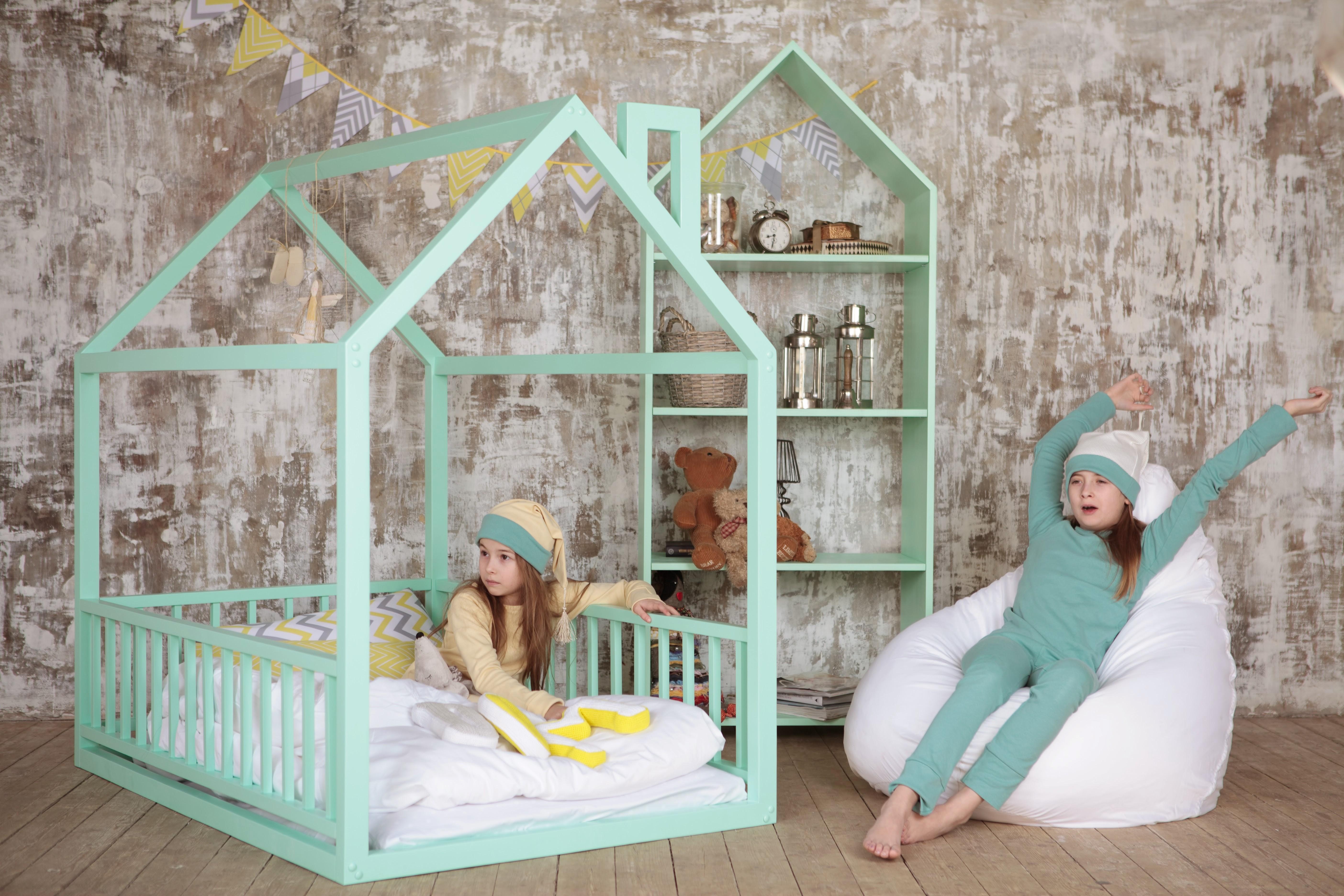 Размеры кровать домик