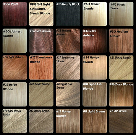 Ash Brown Hair Color Chart